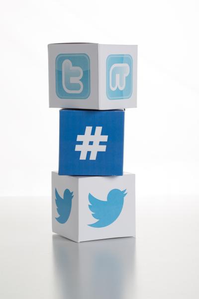 Twitter and hashtag blocks